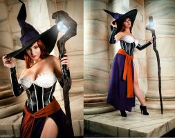 Sorceress Cosplay -- Dragon's Crown by Lisa-Lou-Who