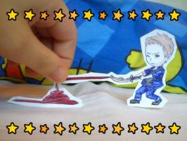 Hilly!Dean Paper child by AokiBelgii