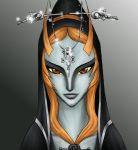 Midna art exchange by xRaggsokkenx