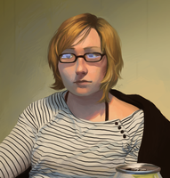 Self Portrait by hyperionwitch