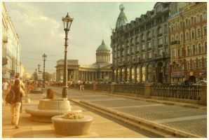 streets of St. Petersburg by sunny-sunflower