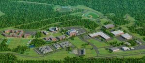 Georgia Gwinnett College 3d map by zodevdesign