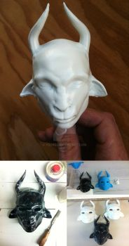 3D Printed Goatface by yzorg
