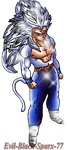 Redit SSJ 5 by Evil-Black-Sparx-77