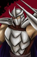 TMNT 2012: Shredder by athena-i