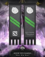 Dota2 TI4 Banners - VG by goldenhearted