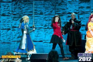 Fate/Stay Night at Anime Central by thatbloodypirate