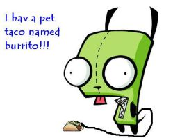 gir and his pet by jeffhardyluver14