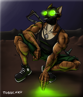 Radioactive Blood Trails by TobbeKre
