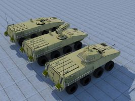 Lynx Wheeled Combat Vehicle seriesII by kaasjager