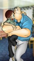 Bob and Helen Parr by Rosien-HoH