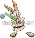 Luke Skywalker in Hare Style by Nabs-chan