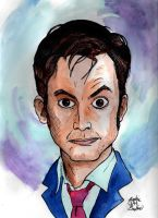 Pop Portraits: The Tenth Doctor by brodiehbrockie