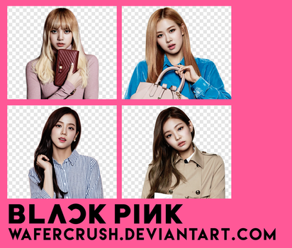 BLACKPINK PNG PACK #1 by wafercrush