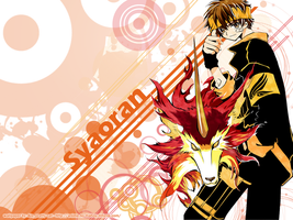 Syaoran's Kudan wallpaper by aleprettycat
