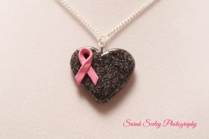Breast Cancer Awareness Month Necklace by CharmStop