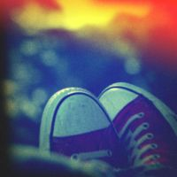 Holga Print 16 - Red Shoes 2 by uselessdesires