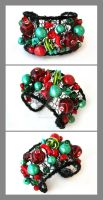 Fruity Pebbles cuff by Faeriedivine
