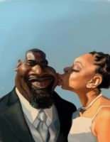 Newly Weds Final by DoodleArtStudios