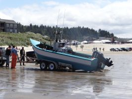 Dory Boat by Whimseystock