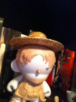 One Piece - Monkey D. Luffy Munny WIP by Last-Superpower