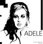 Adele Vector by ashhamawi