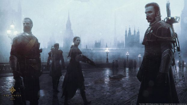 The Order: 1886 Wallpaper by De-monVarela