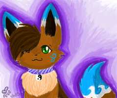 MS Paint experimental headshot by eevee4everX3