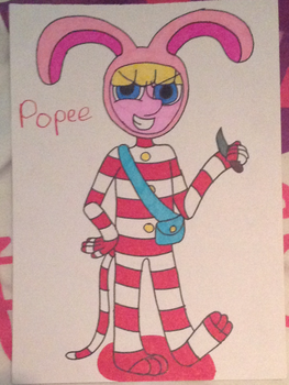 Popee (Singular Drawing) by puresthope125