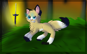 Art trade with Miineh ! by Punk-Mutt