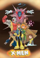 X-men by Tyrannus by soulrailer