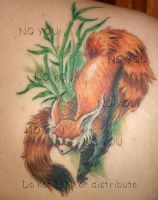 .::Red Panda tattoo::. by CitrusVision