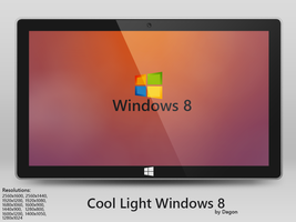 Cool Light Windows 8 by CryDagon