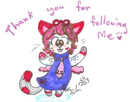 Miss Kitty thank you for following by Kittychan2005