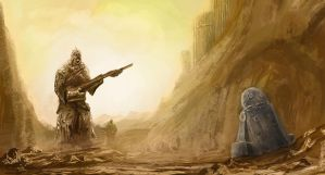 SW Sand people by Mannepanne