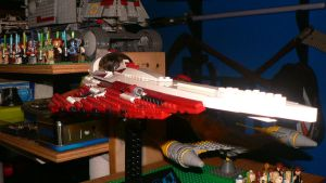 Lego UCE Jedi Starfighter 01 by wingzero-01-custom