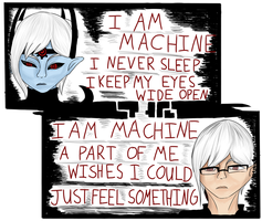 I Am Machine by Astralstonekeeper