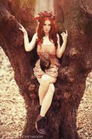 Autumn Goddess II by KittyTheCat-Stock