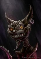 Cheshire Cat - Alice in madness return Fan art by Shanks991