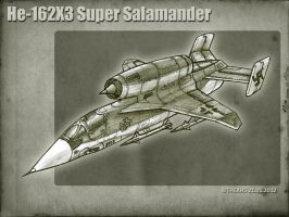 He-162X3 Super Salamader by TheXHS