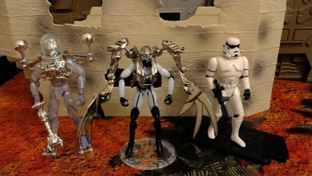 AcroVoltech, AcroVena, and Storm Trooper by wmpyr