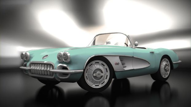 '60 Chevrolet Corvette by BFG-9KRC