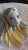 First Monster High repaint by TaitRochelle
