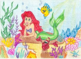 The Little Mermaid by SharandinaNastiya