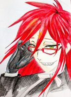 Grell Sutcliffe by Mihaelis