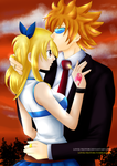 Fairy Tail - Lucy x Loke - Key to my Heart by lovelykotori