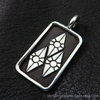 Silver Rarity pendant by Sulislaw