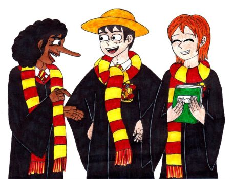 Pirates of Gryffindor by Drakana666