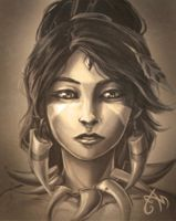 Mugshots - Nidalee by scribblecloud