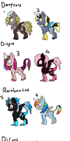 Adoptable Discord Children (part 1) by Chickfila-Chick